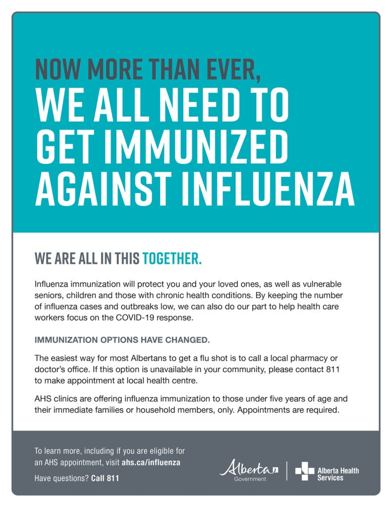 The 2020 2021 Alberta Influenza Immunization Program Is Now Available Municipal District Of Greenview