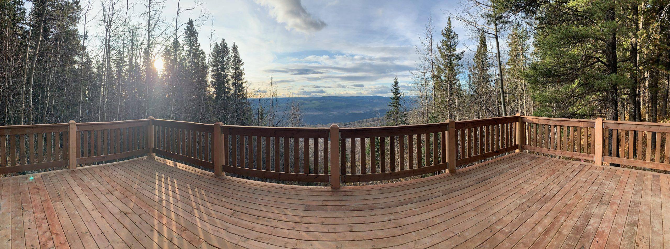 Southview Provincial Recreation Area viewing platform